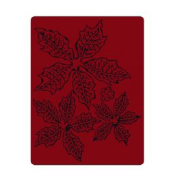 662198 Sizzix Texture Fades Embossing Folder - Tattered Poinsettia by Tim Holtz